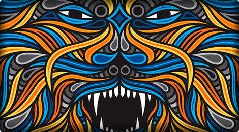 Beastman graffiti
