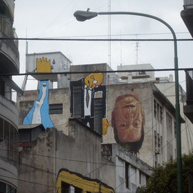El Dercertor, Blabla Buto et Cima à Buenos Aires